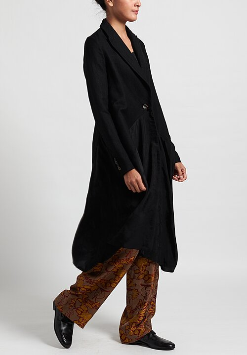 Uma Wang Celia Coat in Black