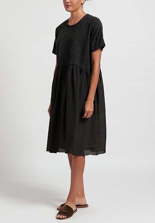 Uma Wang Dana Dress in Black