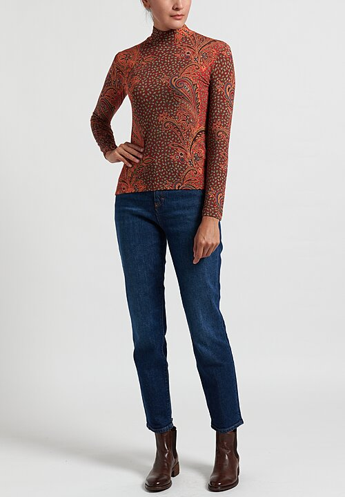 Etro Lightweight Fitted Turtleneck