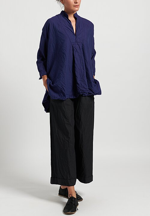 Daniela Gregis Washed Kora Chicory Top in Blue