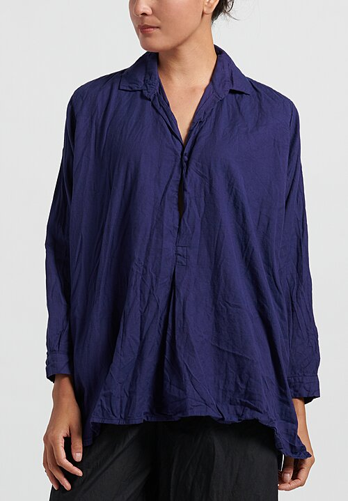 Daniela Gregis Fratello Chicory Top in Blue