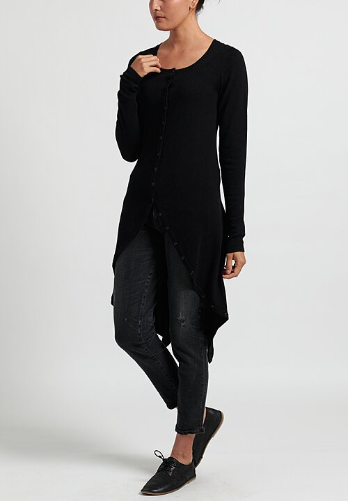 Rundholz Fitted Asymmetric Coat