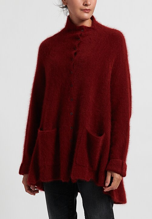 Rundholz Raccoon Hair/ Cashmere Sweater