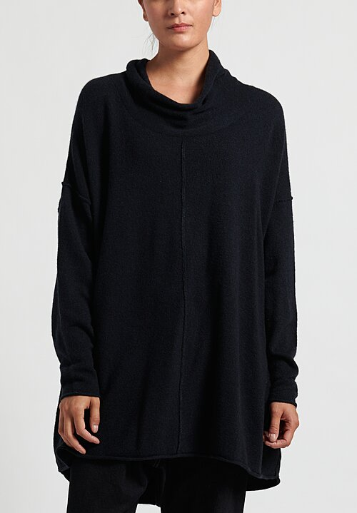 Rundholz Black Label Knitted Sweater Dress in Steel
