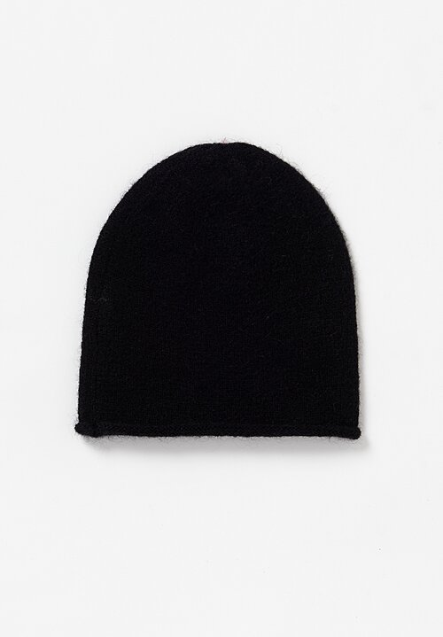 Rundholz Black Label Knitted Cap in Black