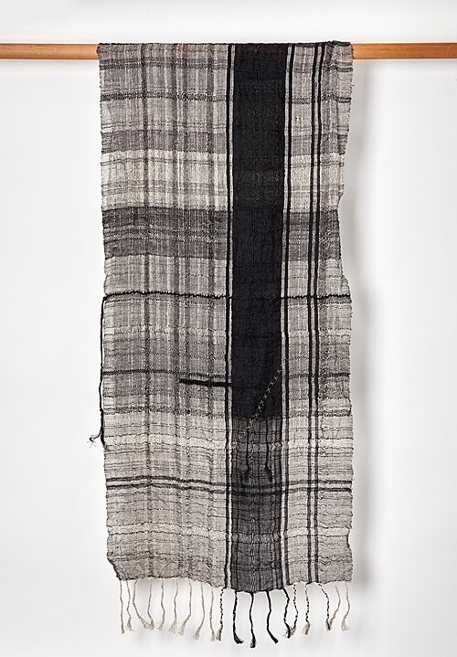 Christopher Duncan Illusion I Scarf in Black