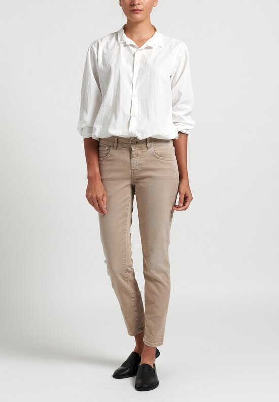 Closed Baker Narrow Jeans in Beige