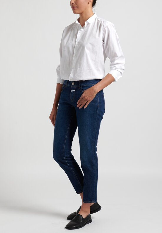 Closed Narrow Baker Jeans in Dark Blue
