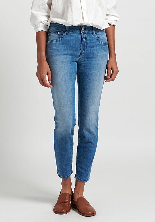 Closed Baker Mid-Rise Jeans in Mid Blue