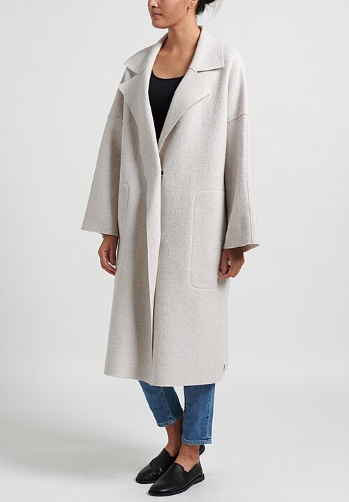 Oska Mantel Hynu Coat in Moon