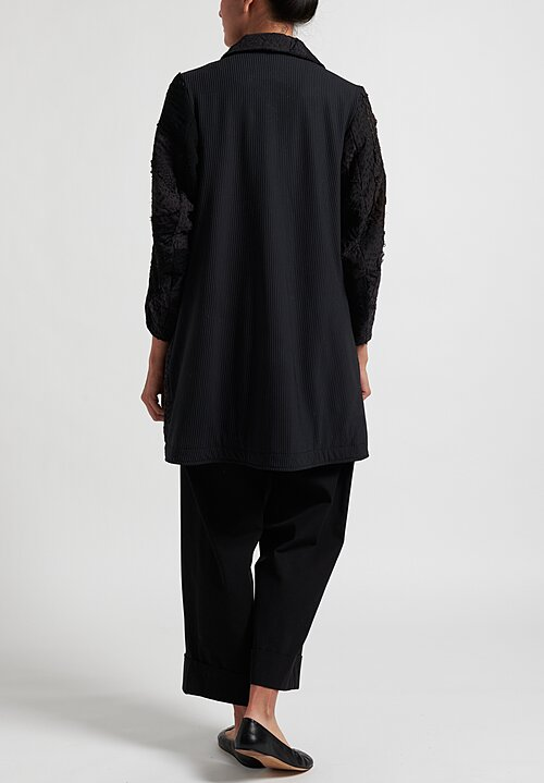 By Walid Kaiyla Coat in Black