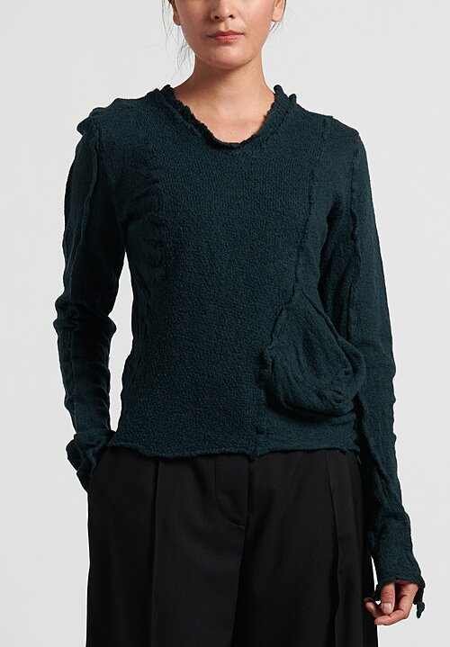 Rundholz Black Label Fitted Exposed Seam Sweater