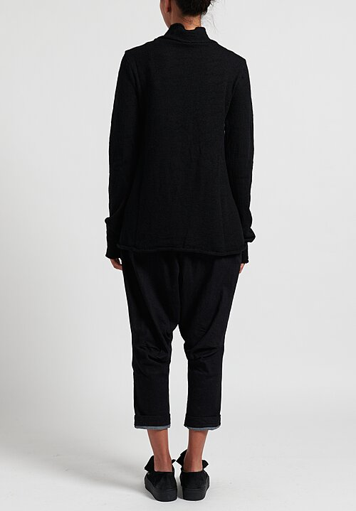 Rundholz Black Label Textured Wool Cardigan