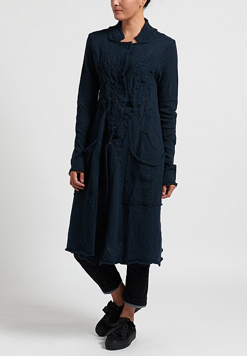 Rundholz Black Label Fit and Flare Knitted Coat