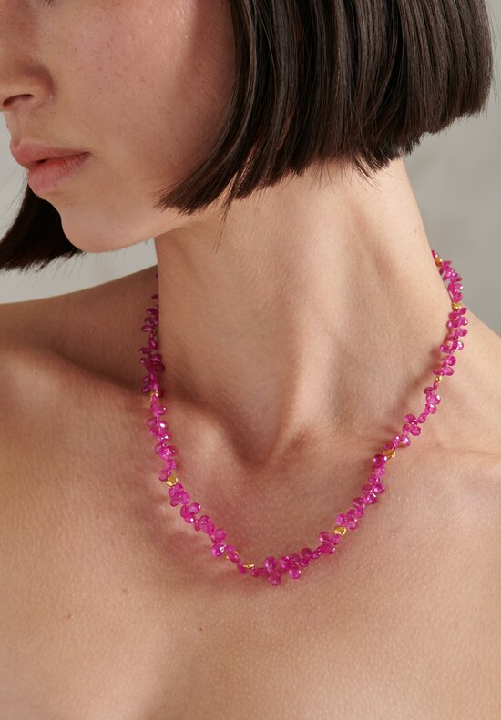 Greig Porter 18k Burmese Ruby Short Necklace
