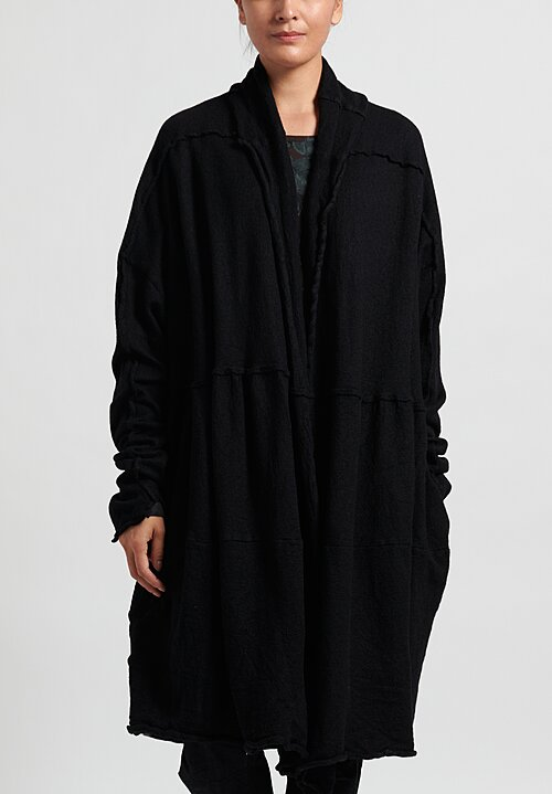 Rundholz Knitted Cardigan in Black
