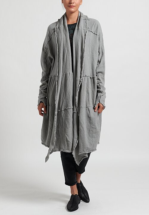 Rundholz Knitted Cardigan in Ashes