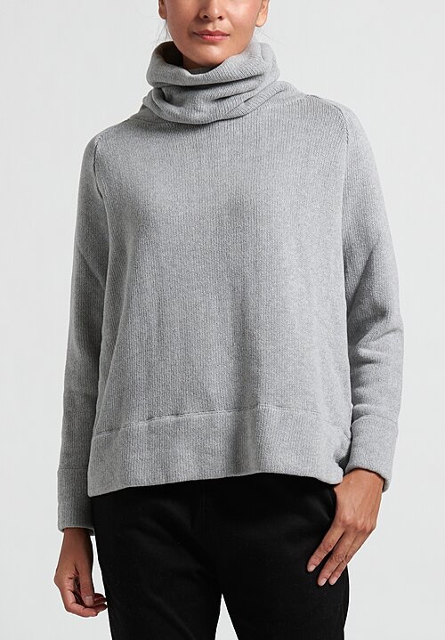 Album di Famiglia Turtleneck Sweater in Grey