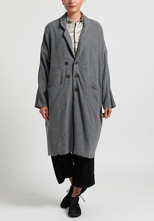 Umit Unal Wool Fine Knit Coat