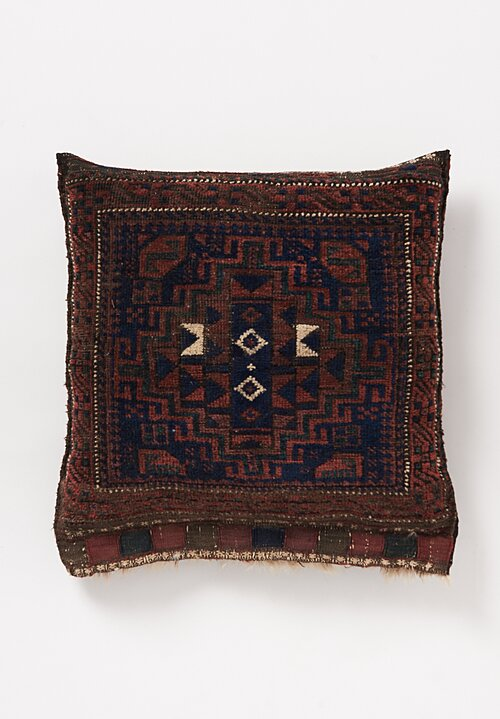Shobhan Porter Geometric Hand Knotted Pillow 22in x 21in