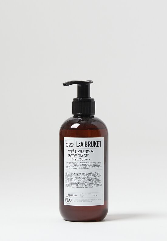 L:A Bruket Liquid Hand & Body Soap No. 222 Spruce