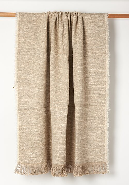 Uniq'uity Nash Decorative Throw Natural