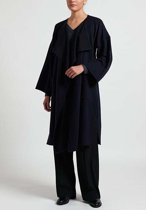 Alonpi Cashmere Open Front Coat