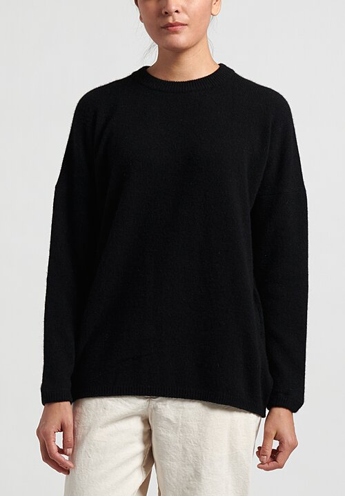 kaval Cashmere/ Sabel Crew Neck Sweater