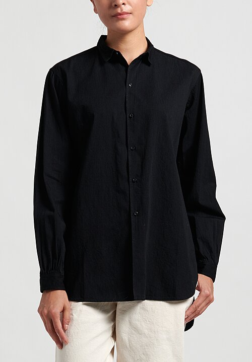 Kaval Cotton Simple Stitched Shirt