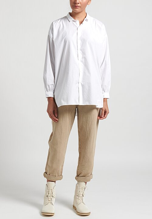 Kaval Cotton Open Pullover Shirt