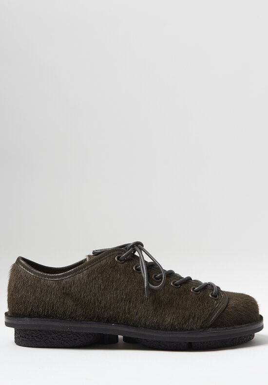 Trippen Todi Shoe in Khaki