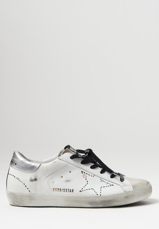 Golden Goose Superstar Dotted Star Sneaker