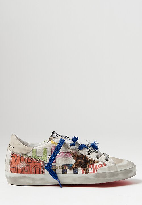 Golden Goose Patchwork Horsy Superstar