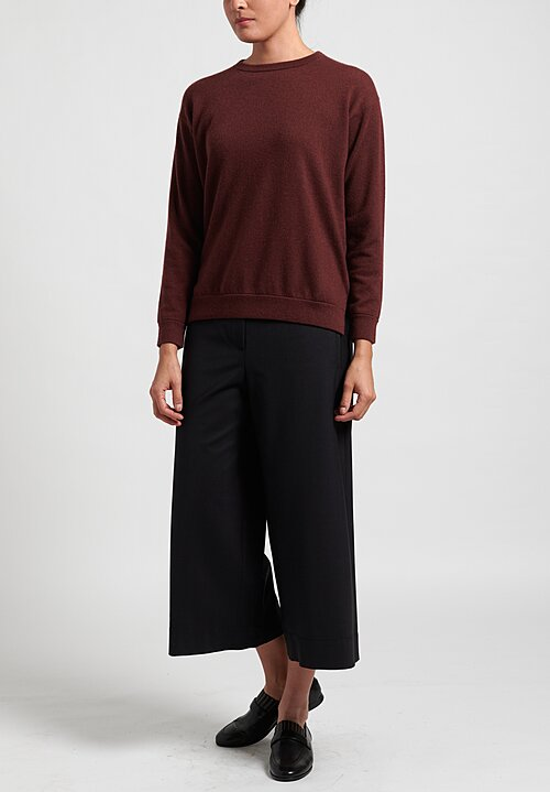 Brunello Cucinelli Cropped Culottes in Black
