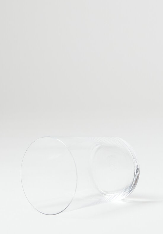 Deborah Ehrlich Simple Crystal Water Glass Clear