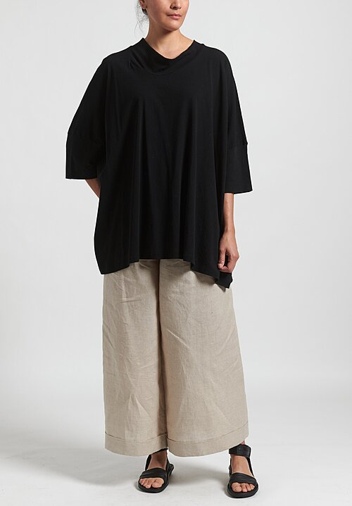 Rundholz Oversized T-Shirt in Black