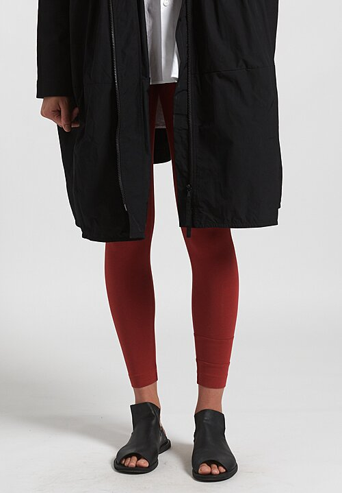 Rundholz Black Label Fitted Leggings in Berry Red