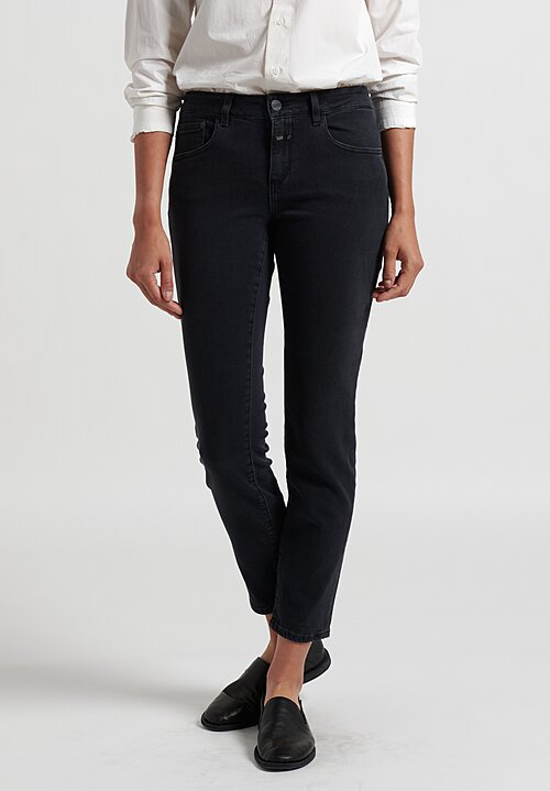 Closed Baker Long Narrow Jeans in Black