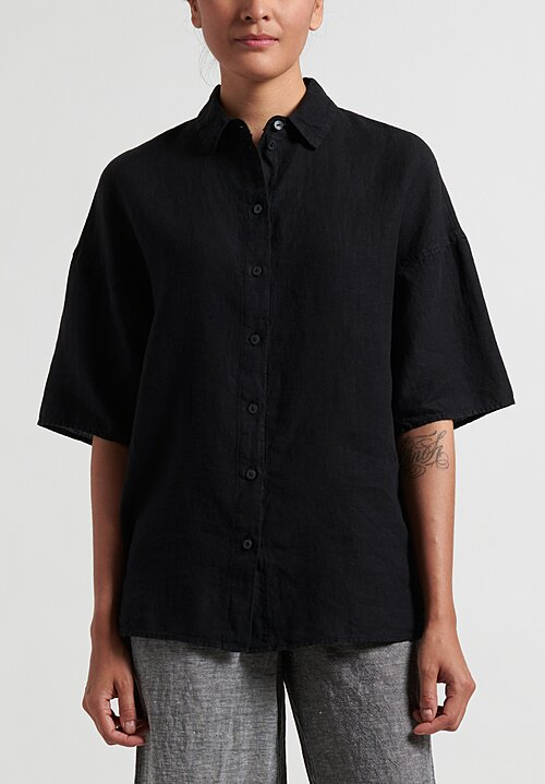 Oska Oversize Levina Blouse in Black