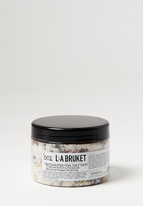 L:A Bruket Sea Salt Bath 450g Marigold/ Orange/ Geranium