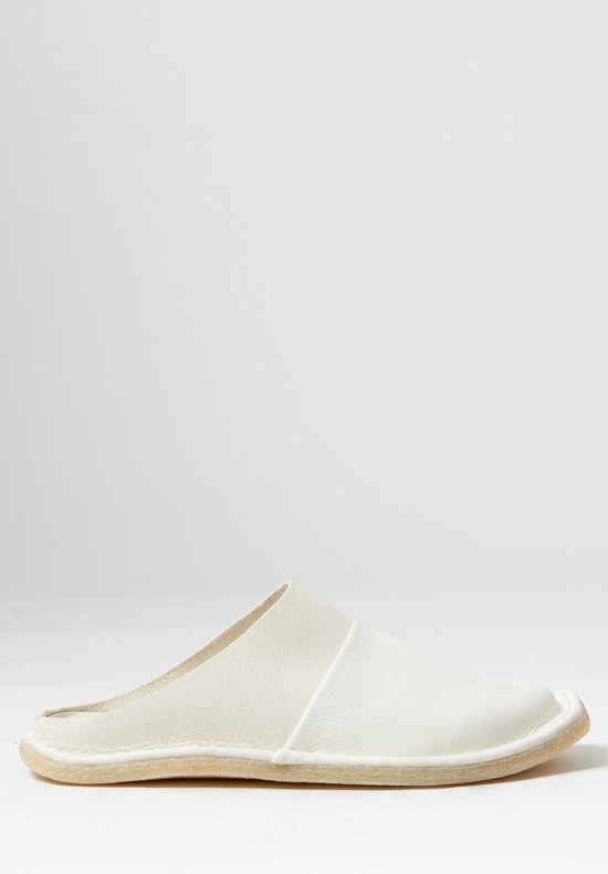 Trippen Pause Sandal in White