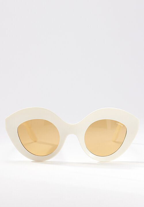 Lapima Nina Sunglasses in Natural White