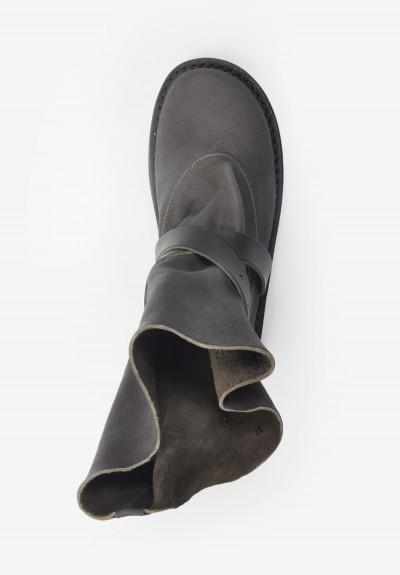 Trippen Fold Buckle Boot In Smog Santa Fe Dry Goods