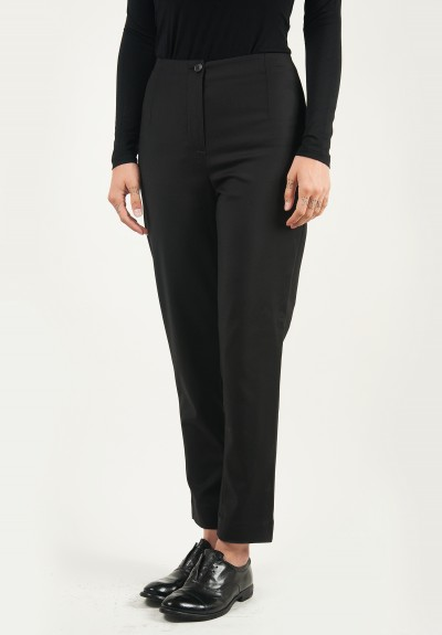 Peter O. Mahler Cropped Pants in Black