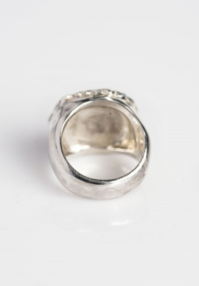 Rosa Maria Mina Ring With Ice White Diamonds Santa Fe Dry Goods