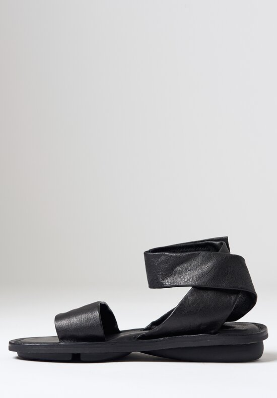 Trippen Careless Sandal in Black