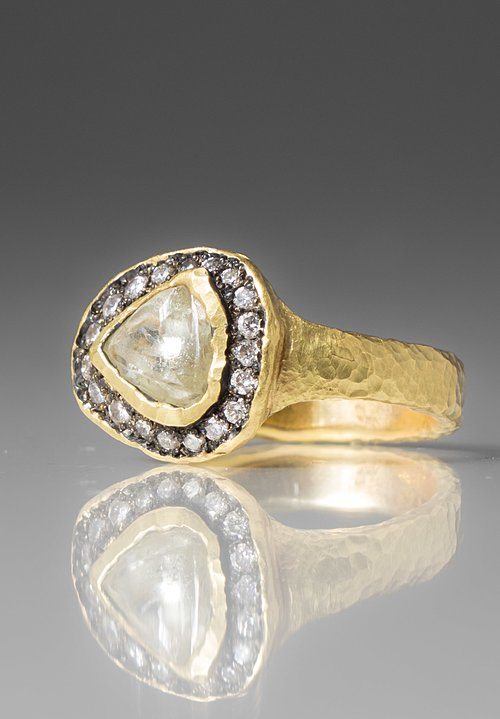TAP by Todd Pownell 18k Gold Natural Diamond Ring