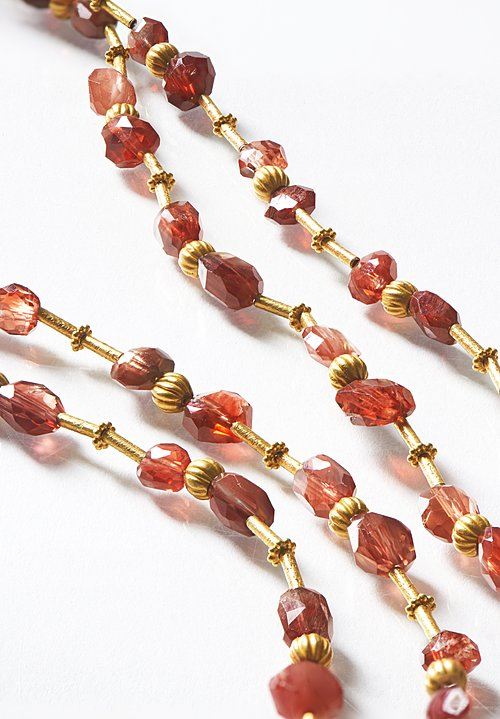 Greig Porter Tibetan Sunstone Necklace
