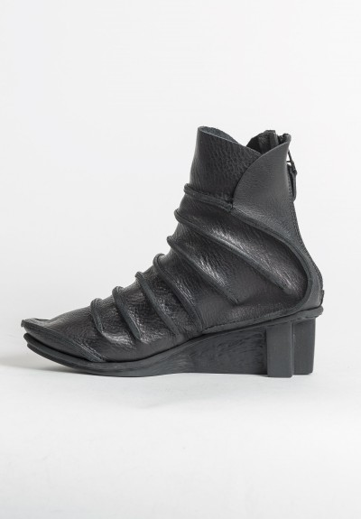 Trippen Amber Ankle Bootie in Black