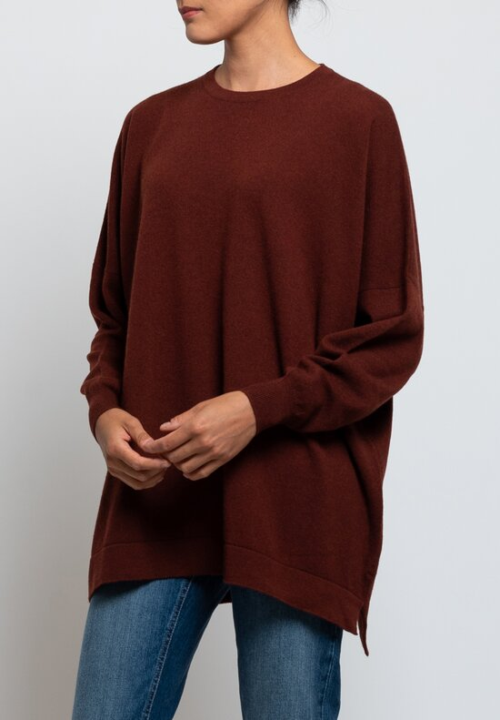Hania New York Marley Sweater in Red Grouse